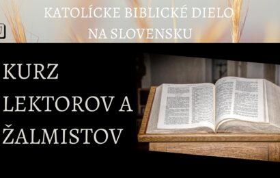 Kurz lektorov a žalmistov
