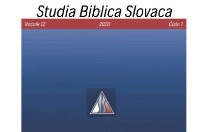 Biblický časopis Studia Biblica Slovaca