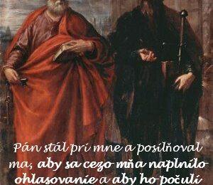 Komentáre k textom na sviatok svätých Petra a Pavla apoštolov