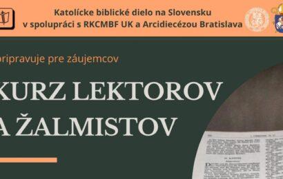 Kurz lektorov Bratislava