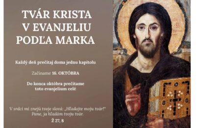 Tvár Krista v Evanjeliu podľa Marka
