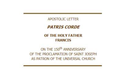 Apoštolský list Svätého Otca Františka Patris corde