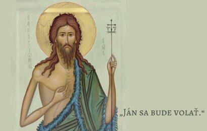 Komentár k čítaniam na slávnosť Narodenia svätého Jána Krstiteľa
