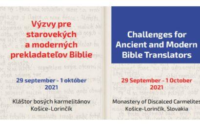 Výzvy pre starovekých a moderných prekladateľov Biblie